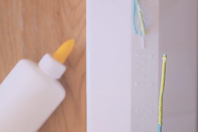 DIY lettres en laine avec loopdedoo