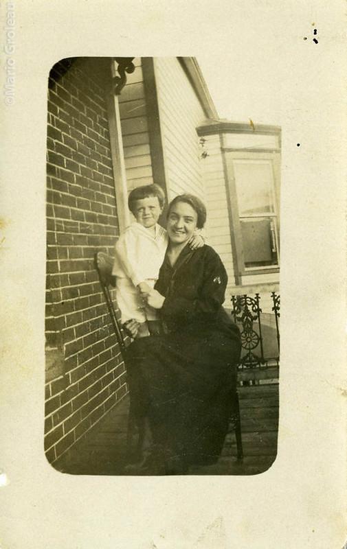 Femme et enfant - Héroux Photographe