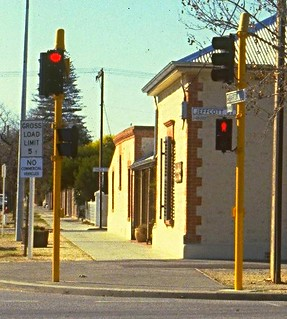 Jeffcott St/Barton Tce - early 1980s