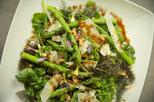 Griddled Asparagus Salad