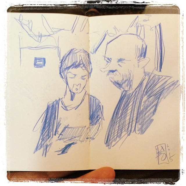 #urbansketch #train