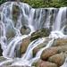 Jinguashi Golden Waterfall, New Paipei city, Taiwan by osimaco