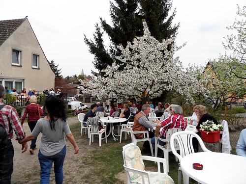 Privatgärten öffnen ihre Tore - 136. Baumblütenfest Werder 2015