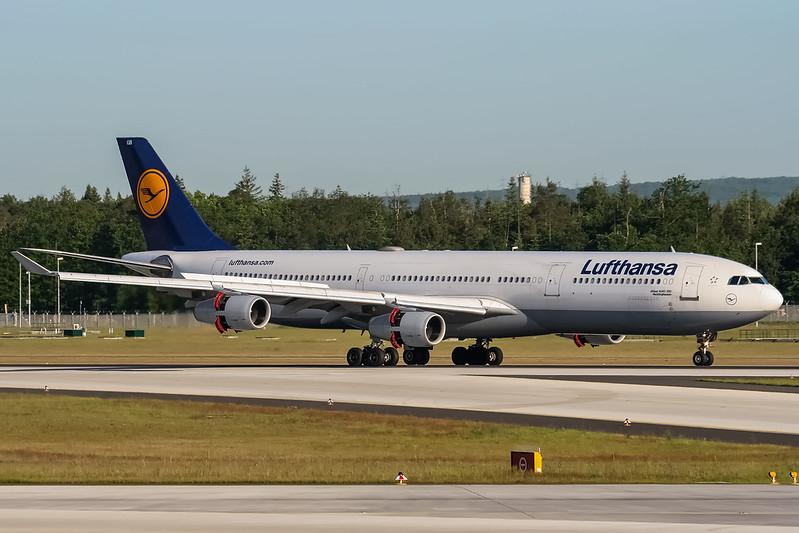 D-AIGB Lufthansa Airbus A340-311 @ Frankfurt - Rhein-Main International (FRA / EDDF) / 22.05.2012