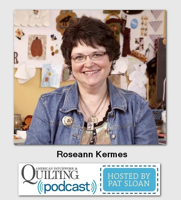 American patchwork Guest Roseann Kermes guest
