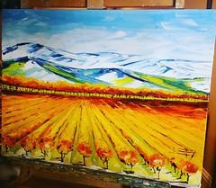 Napa Valley vineyard commission 🍇🍇🍇🍇🍇🍇🍇   #napavalley #napastyle #napa #california #vineyardpainting #vineyardoilpaintings #paletteknife #painting #art #artwork #californialove #sanfranciscopainting #cali #