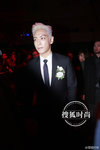 TOP - Dior Homme Fashion Show - 23jan2016 - Sohu Fashion - 01