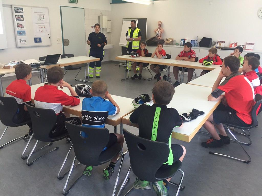Jugendsport Sanitätskurs 2016