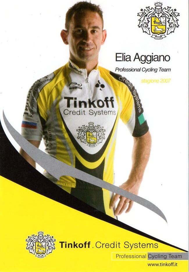 Elia Aggiano - Tinkoff 2007