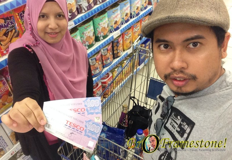 Misi Voucher RM200 Tesco Paradigm Mall