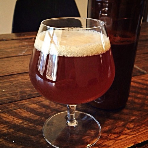 Indicant Veris: a ginger-spiced saison by Tilde Gravitywerks. #homebrewing