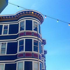 String of Colors - #california #sfo #SanFrancisco #telegraphhill #architecture #bayarea
