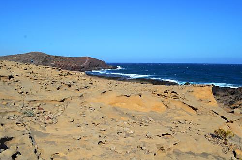 Base of Montaña Roja, El Médano, Tenerife
