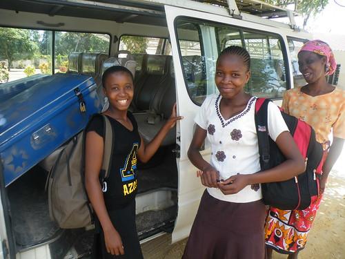 Everlyn & Juliet leave SBM School
