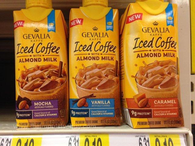 Gevalia Kaffe Iced Coffee with Almond Milk (Mocha, Vanilla, and Caramel)