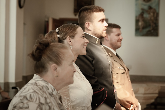 El reportaje de bodas. Parte II. Ceremonia y fotos de pareja