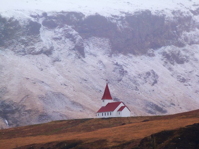 Iglesia de Vík (Islandia)