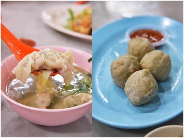 Dumpling and Fish Balls