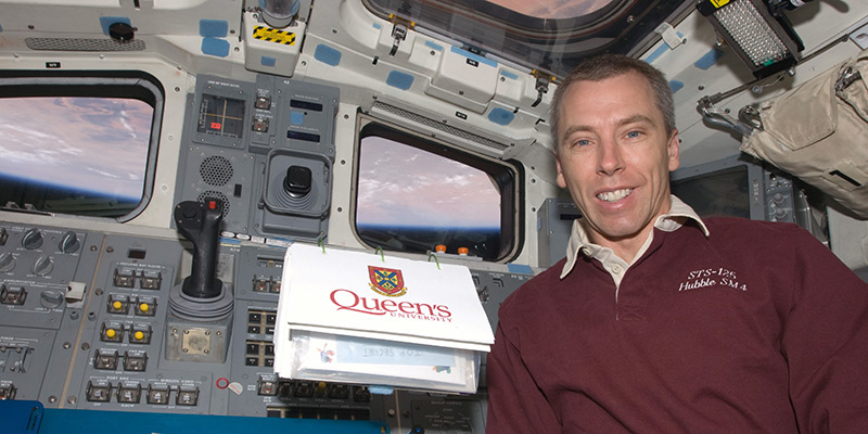 Please join us in welcoming NASA Astronaut Dr. Drew Feustel, PhD'95 back to campus with a special presentation and reception on Saturday, March 28.