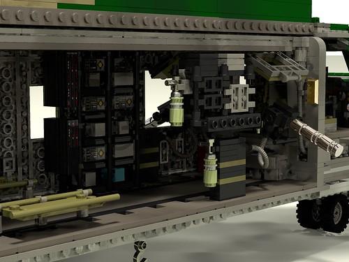 HH-53C Super Jolly Green Giant interior avionics racks