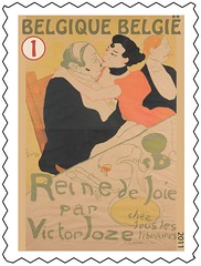 15 TOULOUSE LAUTREC timbree
