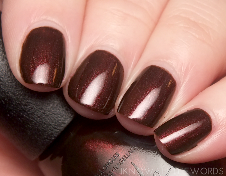 nicole by opi cocoa cola collection zero is my hero