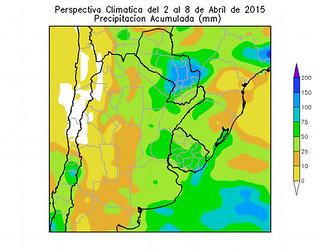 Precipitación Acumulada 02/04 - 08/04/2015