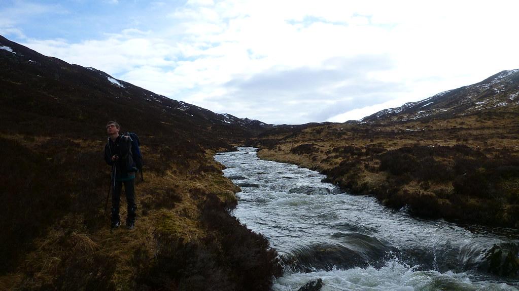 backpacking,  gleann iolairean, loch treig, Scotland, Scottish Highlands, Wild Camping, Staoineag, bothy,  Abhainn Rath, Sgurr Eilde Mor, mamores, Allt Gleann na Giubhsachan, corbett, glas Bheinn