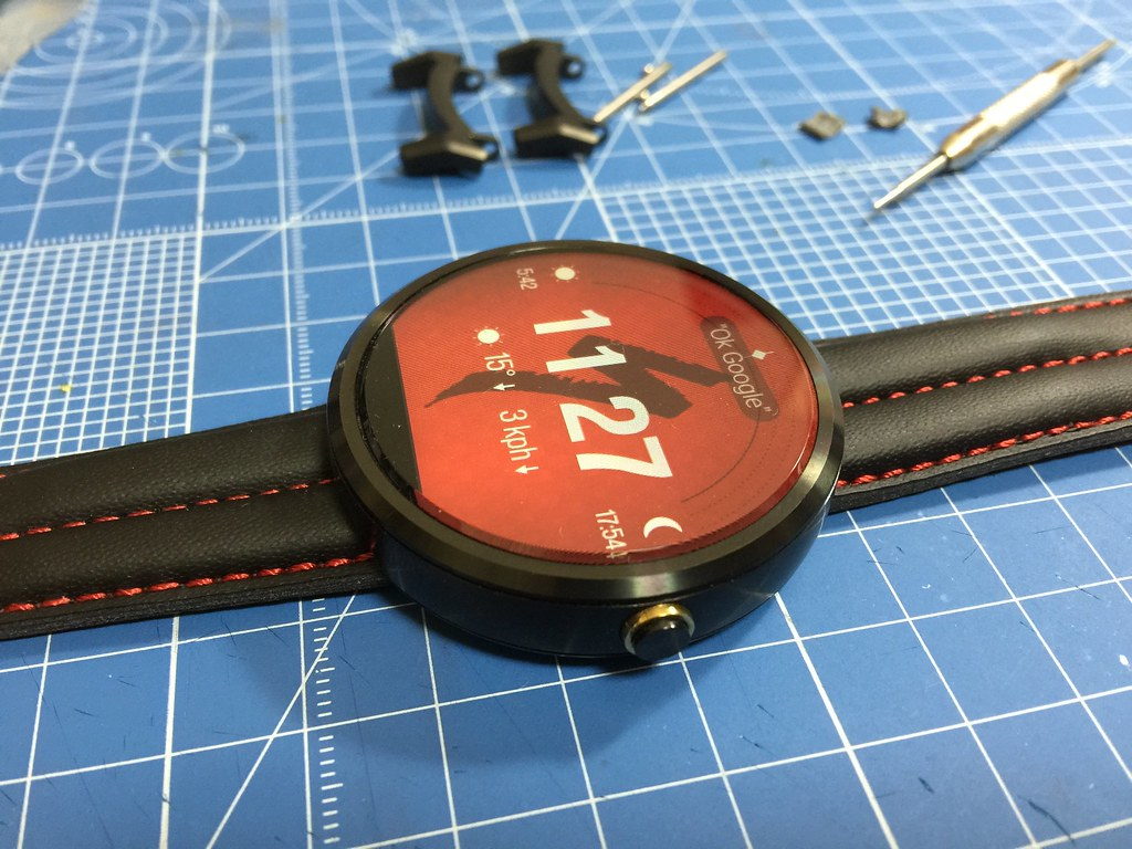 Modified Strap moto 360