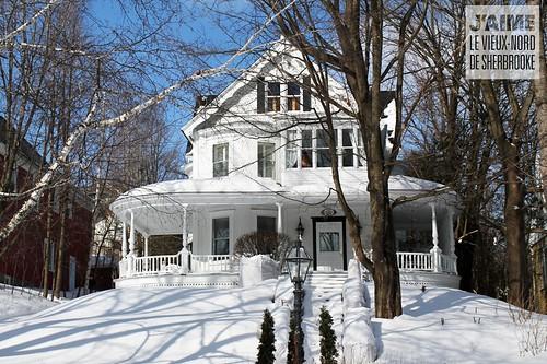 Maison Ewing, rue Québec, Sherbrooke, Qc