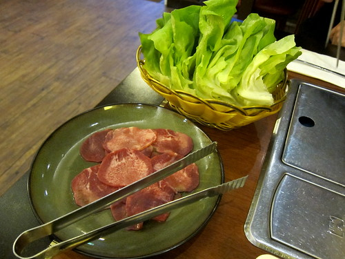 Ox Tongue and Lettuce