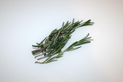 05 - Zutat Rosmarin / Ingredient rosemary