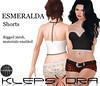 Klepsydra - Esmeralda Shorts