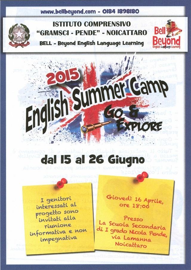 Noicattaro. English School intero