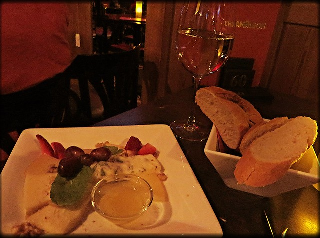 Food at chamaeleon theatre, cheese platter, things to do in berlin, shows in berlin,