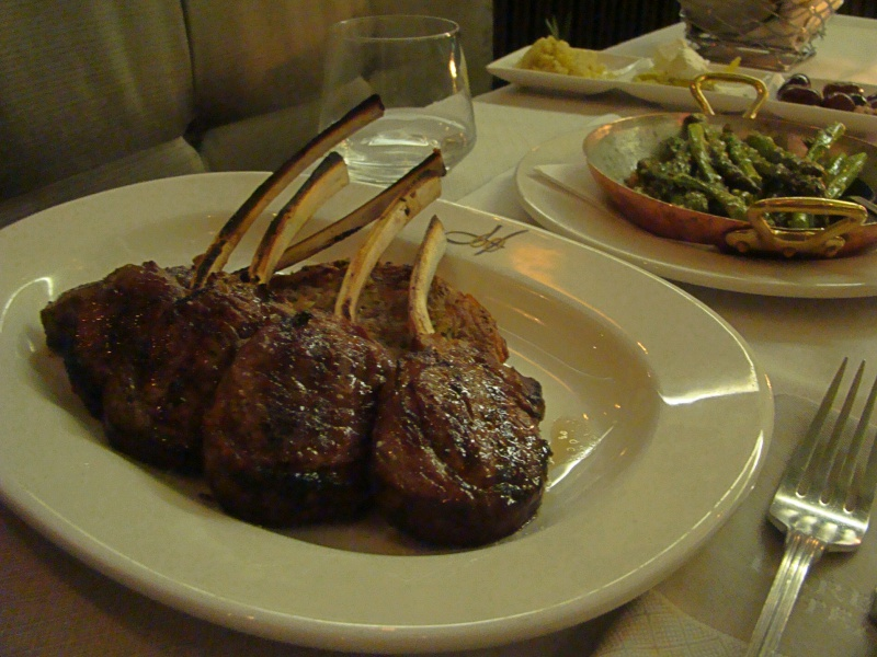 Harbour Sixty lamb chops