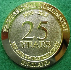 Chrles Riley Medal 2015 reverse
