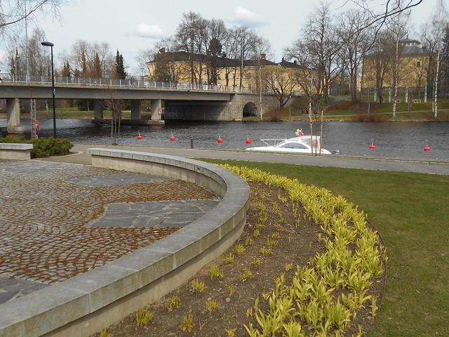 Vapputunnelmia Hämeenlinnassa 1.5.2015; rantanäkymää Vanajavedellä