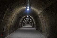Underground tunnels beneath Zagreb - Tunel Grič