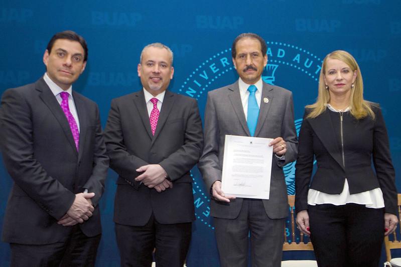 Vie, 07/01/2016 - 10:39 - BUAP se adhiere a la Red Mexicana del Pacto Mundial de la ONU