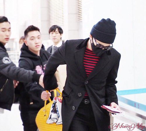 Big Bang - Incheon Airport - 01apr2015 - G-Dragon - NoiizVip - 01