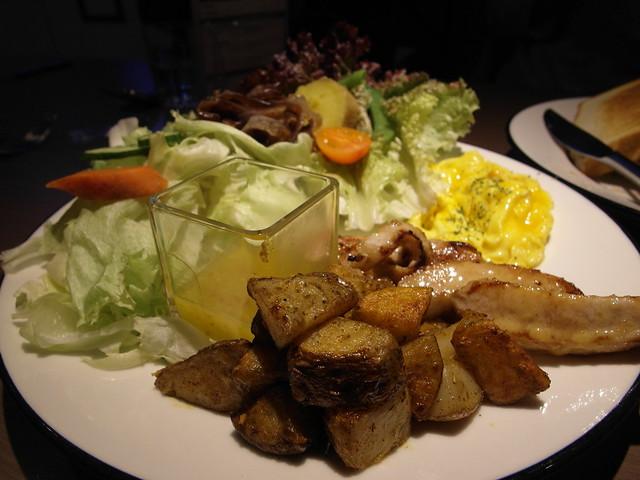 芥末籽香煎松阪豬頰肉 $350@樂樂小時光有機食材餐廳(附有親子遊戲區)