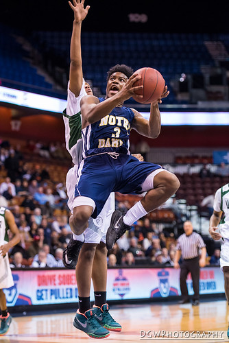 Notre Dame of Fairfield vs. Weaver High - CIAC Class M Boys Basketball Finals