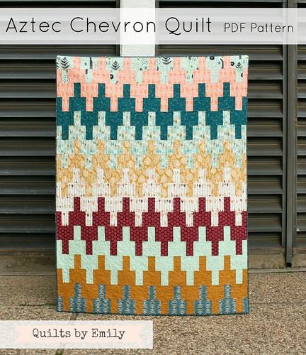 Aztec Chevron Quilt