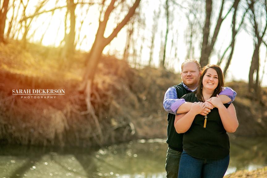 Parkville Missouri engagement photos