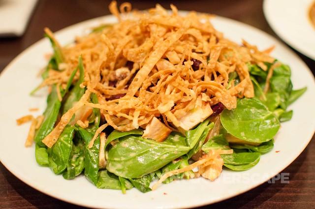 MokSHA chicken tikka salad