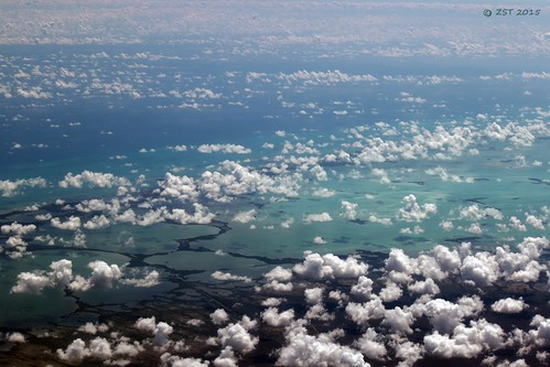 island florida flight aerialview lagoon aerial floridakeys keylargo unitedairlines windowseat barrierislands blackwatersound zeesstof houstontopuertorico