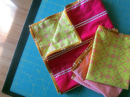 Lovey blankets in voile