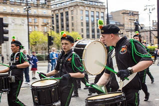 Republican Flute Band march , Glasgow (25/04/15)
