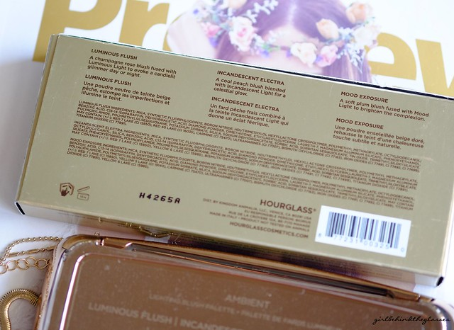 Hourglass Ambient Lighting Blush Palette3